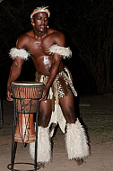 Traditional African Dancer