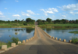 Crocodile Bridge near the South gate Kruger National Park